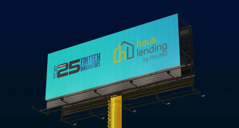 Haus Lending Named to MReport's Inaugural Top 25 Fintech Innovators List